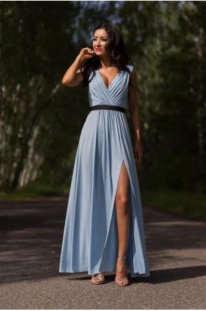 Dlhé spoločenské šaty svetlo modré EL-709