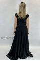 Dlhé spoločenské šaty tmavo modré