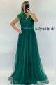 Dlhé spoločenské šaty zelené