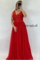 Dlhé spoločenské šaty červené