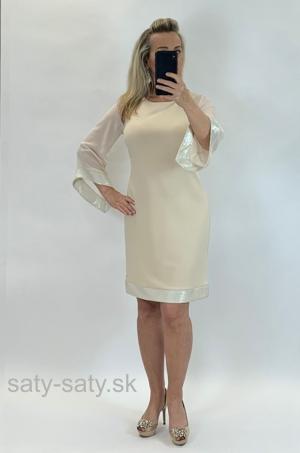 Krátke šaty béžové FA-822