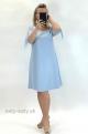 Krátke šaty svetlomodré ZA-828