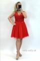 Krátke šaty červenéBI-831