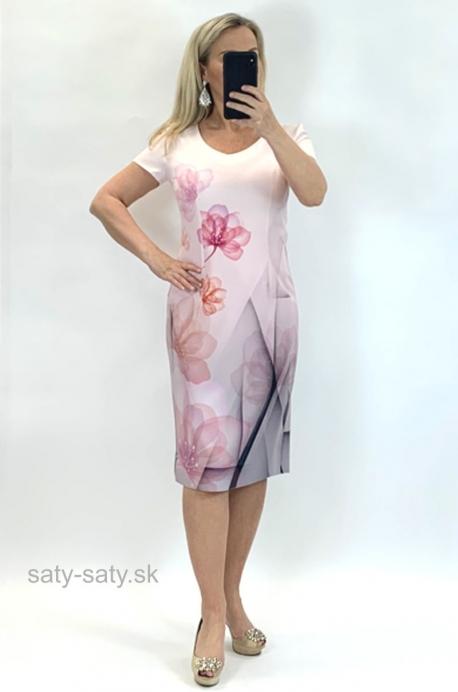 Krátke šaty staroružové CO-837