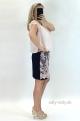 Krátke šaty staroružové BE-845