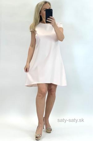 Krátke šaty svetlo ružové UP-850