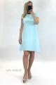 Krátke šaty svetlo modré UP-852