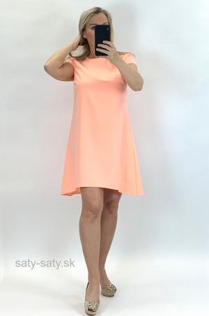Krátke šaty oranžové UP-853