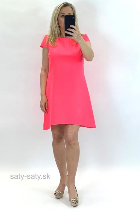 Krátke šaty ružové UP-854