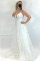 Spoločenské šaty biele LE-856