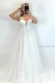 Spoločenské šaty biele PY-857