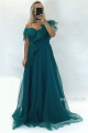 Dlhé spoločenské šaty zelené JO-865