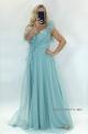 Dlhé spoločenské šaty mentolové JO-919
