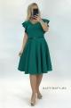 Krátke spoločenské šaty zelené MI-925
